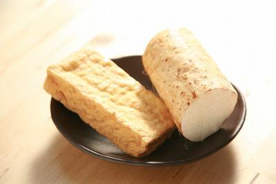 とろとろソースと厚揚げのテリヤキステーキ1
