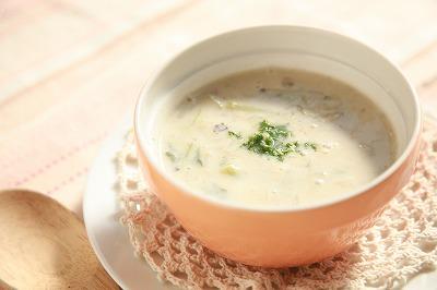 かぶの甘みを味わうまったり豆乳味噌スープ 9