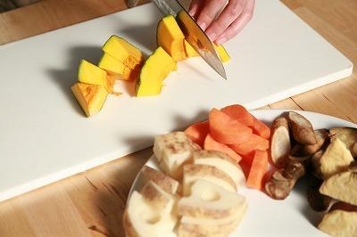 自家製ソイゴマソースの温野菜2