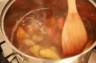 自家製ソイゴマソースの温野菜5