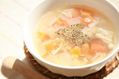 スピリットピーとやさしい甘さの春スープ 8