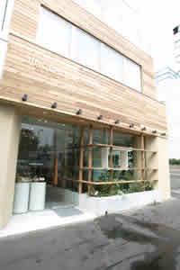 GARDEN CAFE(ガーデンカフェ) / 東京・表参道 外観