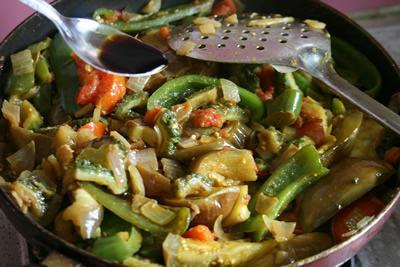夏野菜たっぷり♪和風サブジ 画像17