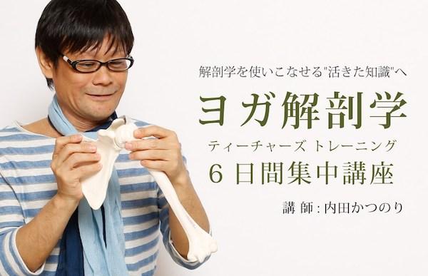 ヨガ解剖学ティーチャーズトレーニング(6日間)