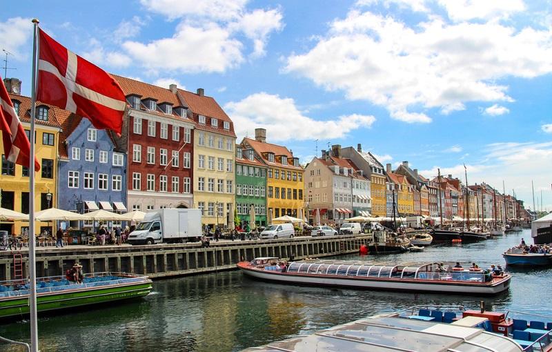 デンマークの町並み