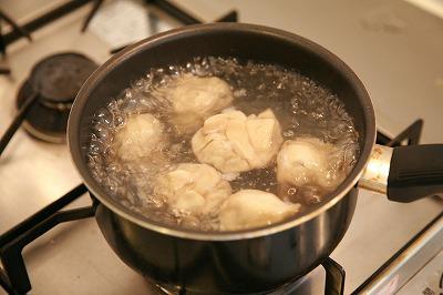 ちょっと寒い夜には...とろとろ豆乳クリームソースのピエロギ10