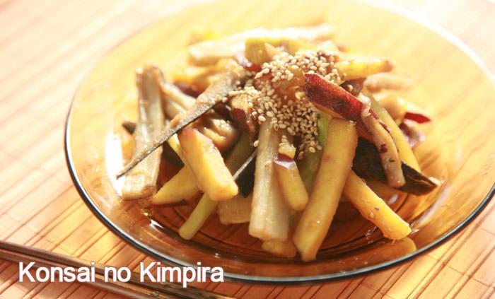 なつかしさとホッとした気持ちにしてくれる根菜のほくほくきんぴらのレシピはコチラ