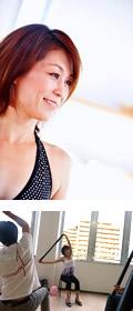香川県 簗瀬利恵さん(ピラティス・ヨガインストラクター) プロフィール画像